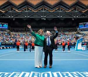 Controversial Court's anniversary is conundrum at Australian Open