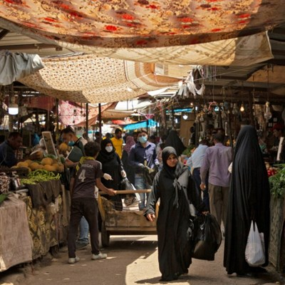 As Iraq lockdown chokes off imports, local businesses thrive