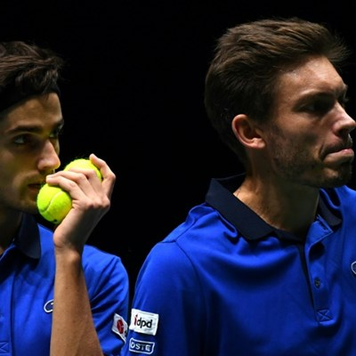 France edge to opening win over Japan in Davis Cup