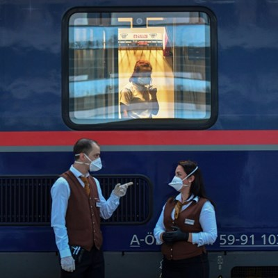 Romania-Austria night train new lifeline for care workers, elderly