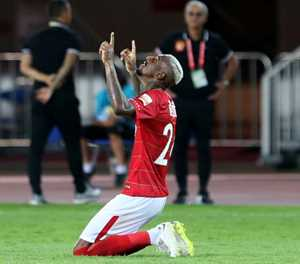 'Wonderful start' for Talisca in China as debut hat-trick lifts Evergrande