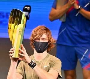 Rublev wins fifth ATP title of season to book Tour Finals spot