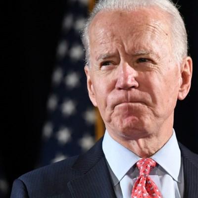 Biden wins big endorsements but gets little air time
