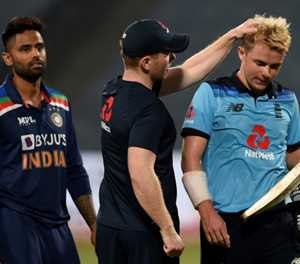 India edge England in ODI decider despite Curran heroics