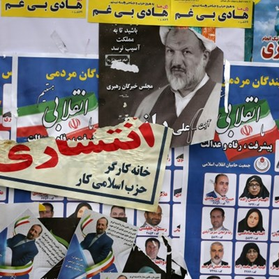 Voting underway in Iran parliamentary election