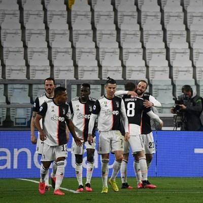 'Sad to play' in empty stadium, says Juventus chief