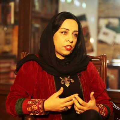 Voice of the unknown woman: Afghan filmmaker Roya Sadat