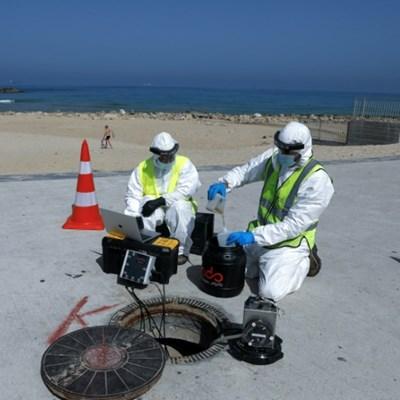 Israeli firm monitors sewers in fight against coronavirus