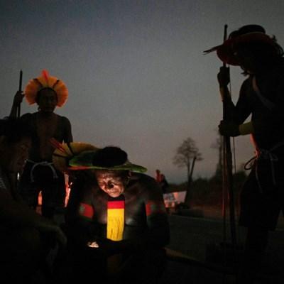 Brazil indigenous protesters defy court, resume roadblock