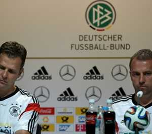 Flick favourite to be Germany's next coach with Bierhoff's backing