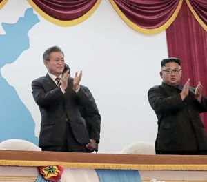 Moon seeks nuclear agreement with Kim at summit