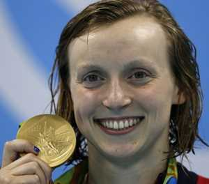 Freestyle great Ledecky powers towards Tokyo 2020