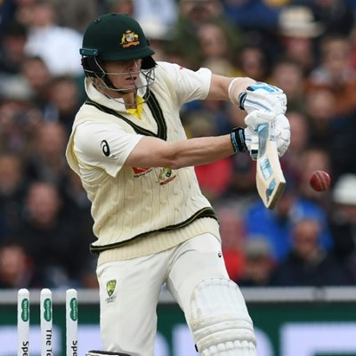 Australia star Smith hits fifty on Ashes return