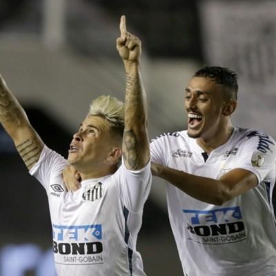 Santos beat Boca to secure all-Brazil Copa Libertadores final