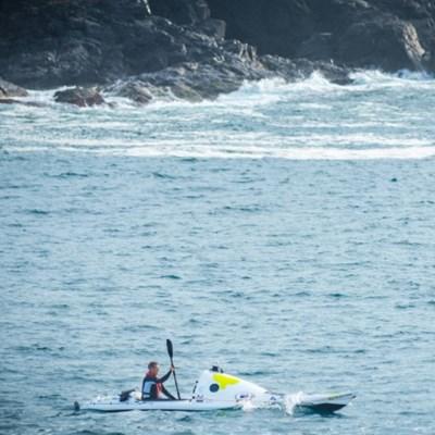 New Zealand kayaker finishes epic solo Tasman voyage