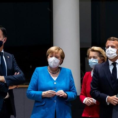 Deadlocked EU leaders try to save marathon virus rescue summit