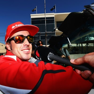 Ex-F1 champion Alonso leaves hospital after cycling crash