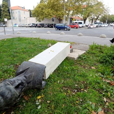 Croatian man breaks leg while vandalising anti-fascist monument
