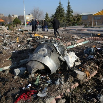 Iran confirms 2 missiles fired at Ukraine airliner