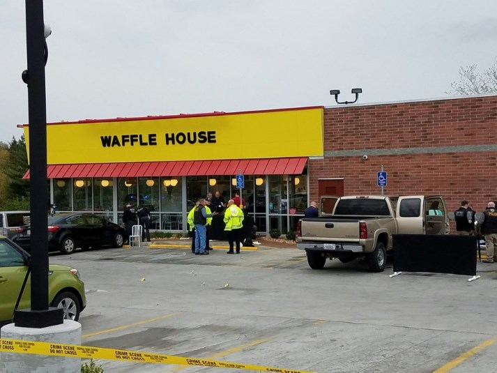 4 Killed in Waffle House shooting