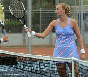 Kvitova hails 'bizarre' Czech tournament as new start for tennis