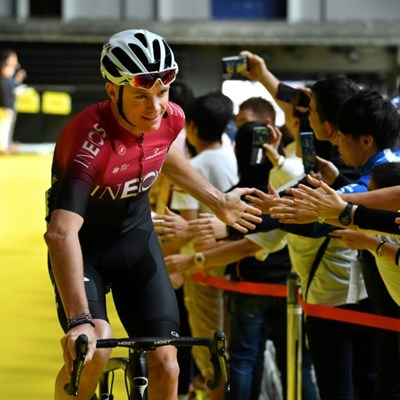 Froome says hip surgery went perfectly