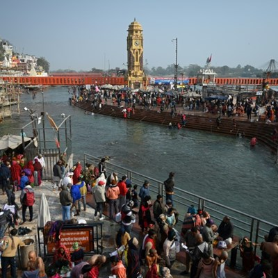 Coronavirus fails to deter India's massive Ganges pilgrimage