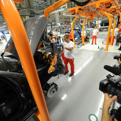 Audi Hungary plant begins tooling up after three-week production halt