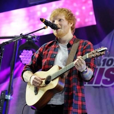 English town celebrates hometown hero Ed Sheeran