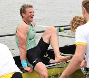 Cracknell stars for Cambridge to become oldest Boat Race winner