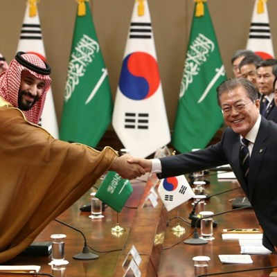 South Korea, Saudi sign $8 bln economic co-operation pact