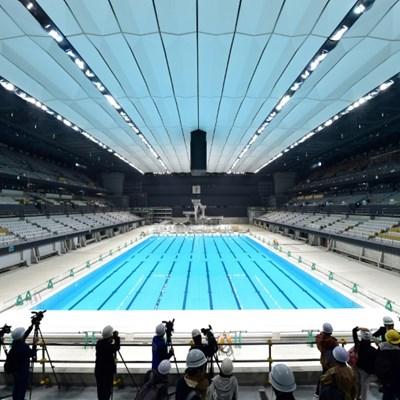 Tokyo 2020 unveils 15,000-seat Olympic aquatics centre