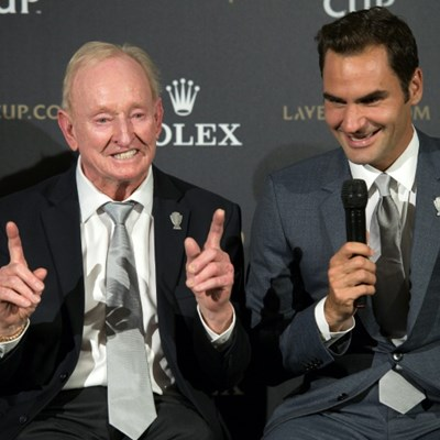 'Champion of his era' Federer is still the best: Laver