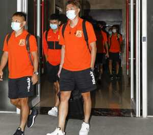 Chinese football teams exit 70-day virus 'bubble'