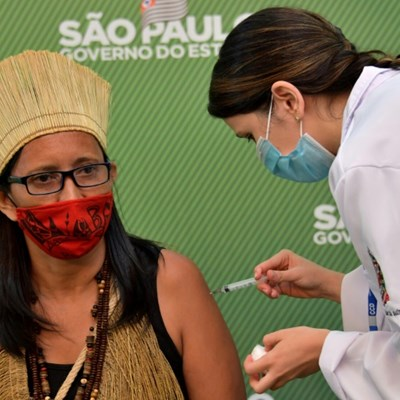 Brazil approves two Covid vaccines, Sao Paulo nurse gets first jab