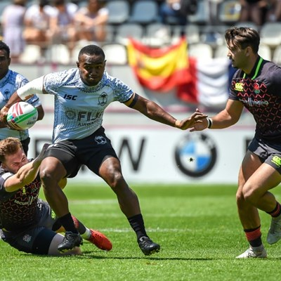 Fiji win in Paris to clinch World Rugby Sevens title