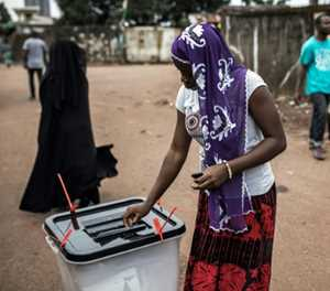 Guinea's opposition leader claims victory in presidential poll