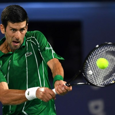 Djokovic continues hot streak to cruise into second round in Dubai