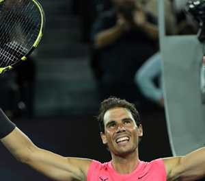 Nadal labours past Delbonis and into Open third round