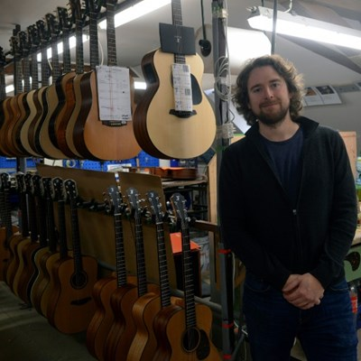 Czech guitar maker born of necessity woos stars