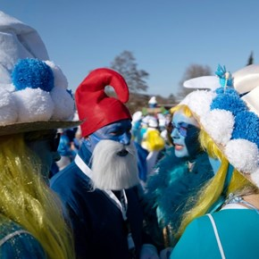Germany claims the crown for record gathering of smurfs
