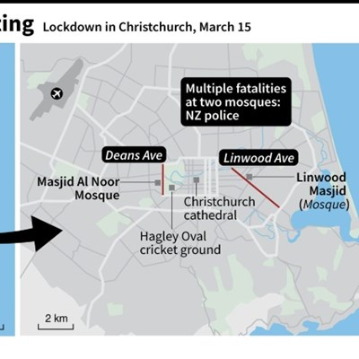 'Multiple fatalities' as New Zealand mosques targeted