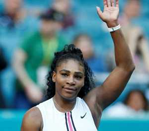 Serena looking to turn the clock back in Rome before Roland Garros bid