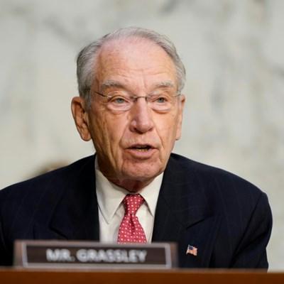 US senator Grassley contracts Covid, ends 27-year vote streak