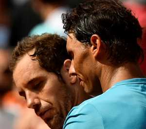 Nadal's 35th birthday party with no guests at French Open