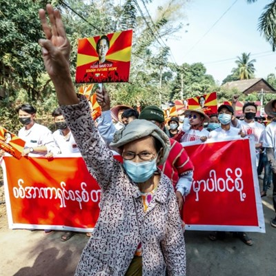 Hackers target Myanmar government websites in coup protest