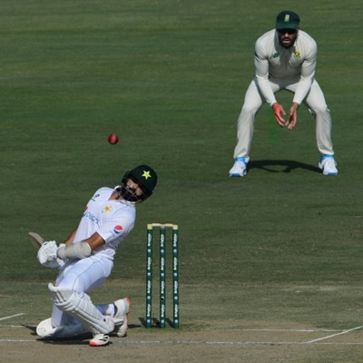 Fawad and Azhar hit fifties to keep South Africa at bay