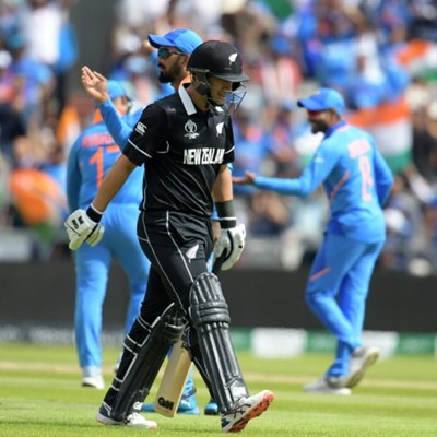 New Zealand post 239-8 in World Cup semi-final against India