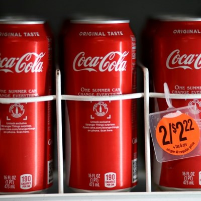 Coca-Cola pops as reopening boosts earnings