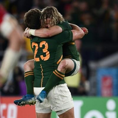 South Africa's Pollard breaks Welsh hearts in World Cup semi-final